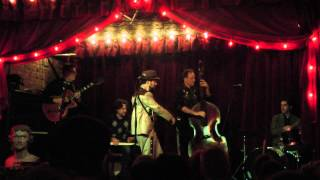 """ALMOST TO TULSA"": THE BRAIN CLOUD at the JALOPY THEATRE (April 26, 2013)"