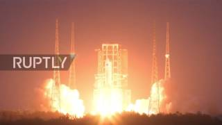 China: Long March 5 rocket launch fails shortly after takeoff - state media