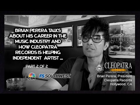 Sports+Music with CEO of Cleopatra Records, Brian Perera. Hollywood, CA