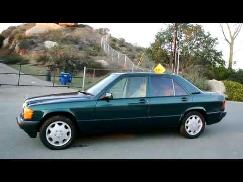 1 Owner 1993 Mercedes Benz 190E Limited Edition Brochure W201 2.3L Last Year 700 Made!