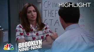 Gina And Charles Discuss The Boyle Family Vacation | Season 4 Ep. 8 | BROOKLYN NINE-NINE