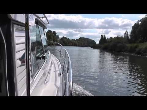Delivery Trip Nimbus 320 Jouster, Roermond Holland to Poole June 2014