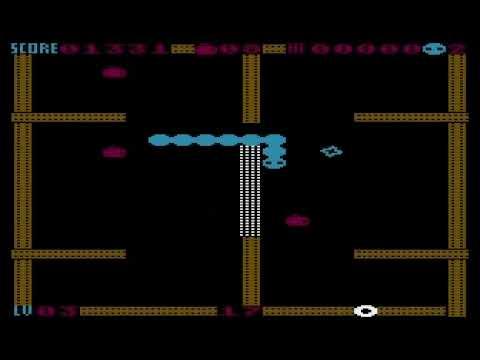 Cross Snake for Atari 8-bit computers
