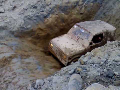 SPIRIT RACING VIDEO FANGAIA 4X4 VIDEO RAD CASTELNUOVO 2008 SUZUKI SAMURAI 4X4