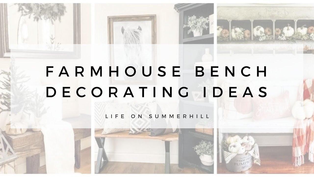 Bench Decorating Ideas Youtube