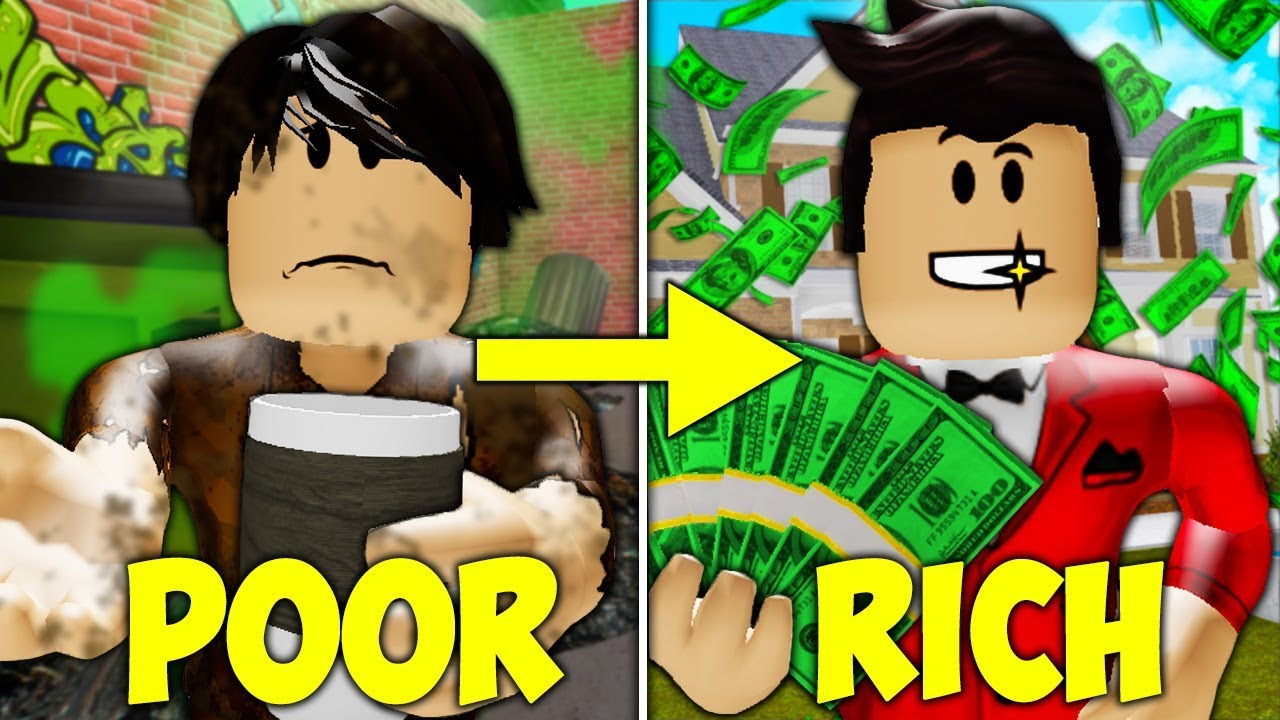 Poor To Rich Roblox Movie Poor To Rich The Family A Sad Roblox Movie Youtube
