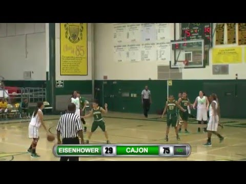 Cajon vs. Eisenhower Girl's Basketball LIVE Stream (1/4/16)-