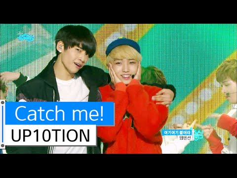 [HOT] UP10TION - Catch me!, 업텐션 - 여기여기 붙어라, Show Music core 20151219