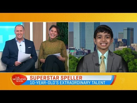 The Morning Show | Australia TV Show On Channel 7 | Funny Interview | Akash Vukoti