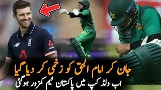 Imam Ul Haq Injured During 4th ODI Vs England || Pakistan Vs England ODI Series 2019