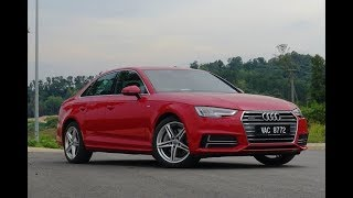 Audi A4 2.0 TFSI quattro (with S-Line) Review