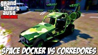 GTA V - SPACE DOCKER vs CORREDORES quem vence essa?