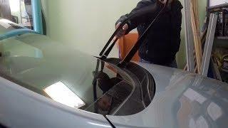 Замена дворников/щеток стеклоочистителей на Хендай Солярис (Hyundai Solaris)