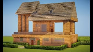 Casa survival videos casa survival clips for Tutorial casa moderna grande minecraft