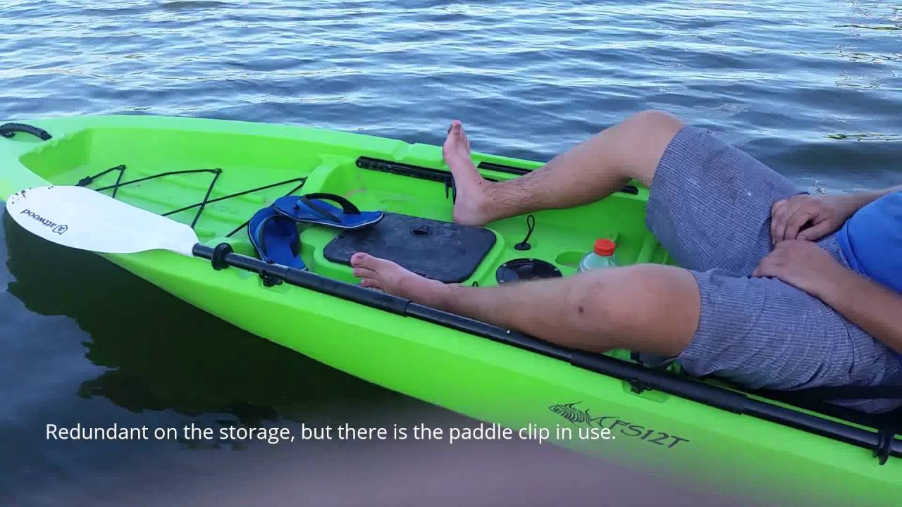 Ascend fs12t kayak review youtube for Ascend fs12t fishing kayak