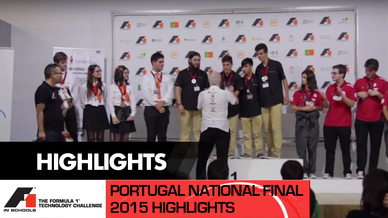 F1 in Schools Portugal Final 2015 - Formula 1 Technology Challenge