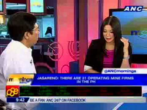 [ANC Mornings] Mines & Geosciences Bureau director Leo Jasareno on #PHmining