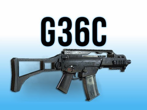 G36c Assault Rifle With Scope
