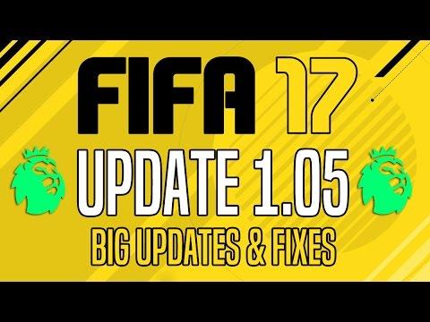 FIFA 17 | Update 1.05 - Big Updates & Fixes!