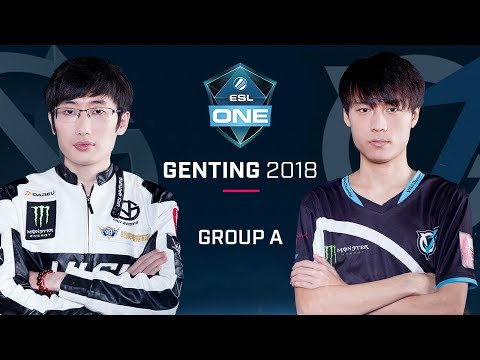 Dota 2 - Vici Gaming vs VGJ.Thunder - Group A Opening Game - ESL One Genting 2018