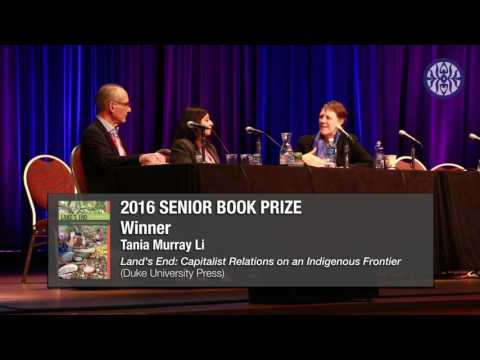 AAA's 2016: AES Senior Book Prize Presentation