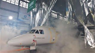 Ан-132 D - первая презентация и авиапремьера года