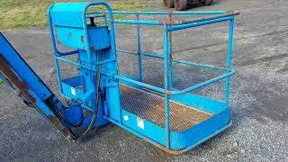 Genie S-85 Man Lift Boom Lift For Sale Walk-Around Inspection Video!