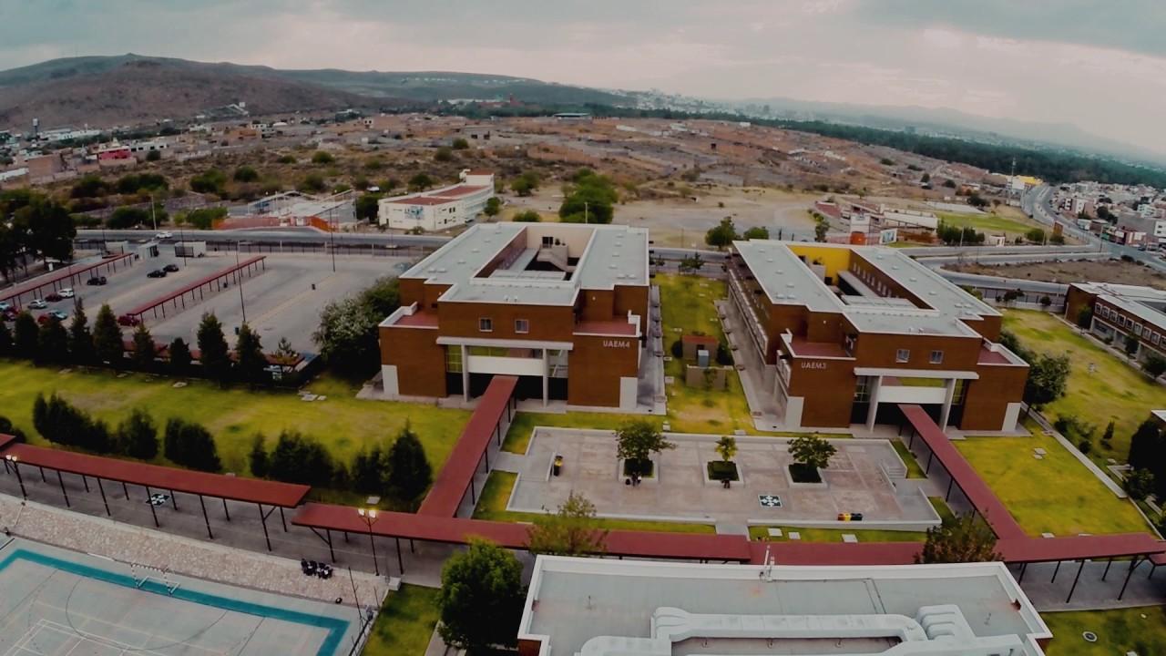 UPSLP tomas aéreas del campus. - YouTube