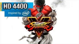 Street Fighter 5 - Intel HD 4400 - Surface Pro 2 /3 i5 - 4 gb ram 60 fps