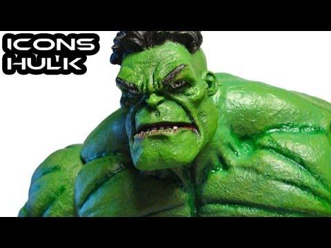 Marvel Legends Icons HULK Figure Review