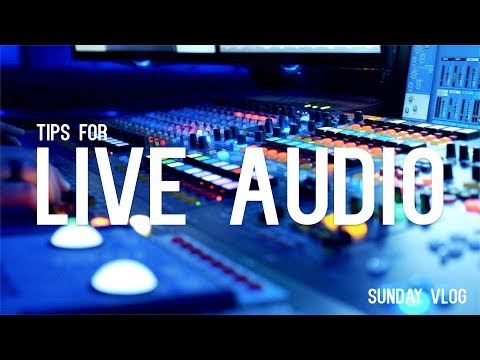 Sunday Vlog #32: Tips for running live sound, and we're hiring! (again)