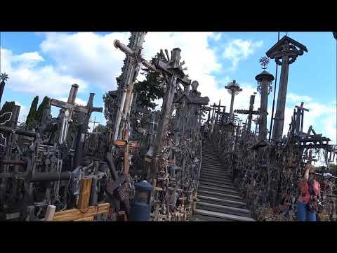 【旅エイター】バルト三国の旅・リトアニア『シャウレイ 十字架の丘・ビデオ映像』 ヨーロッパ
