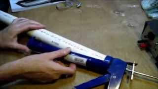 Пресс для брикетов из пистолета для герметика(, 2014-06-23T21:40:09.000Z)
