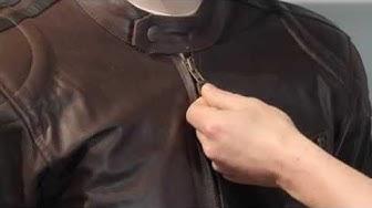 Sweep Asphalt ruskea nahkatakki