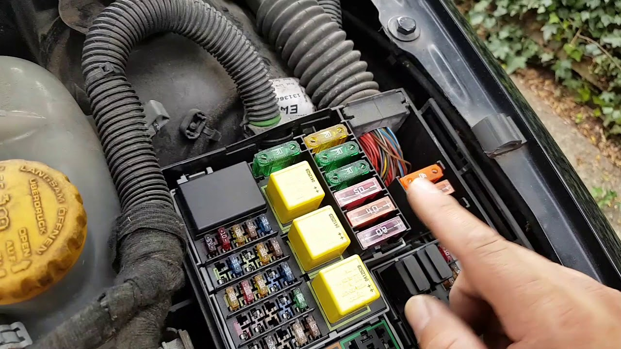 vauxhall opel corsa 1 3 cdti draining the battery fault finding and repair  [ 1280 x 720 Pixel ]
