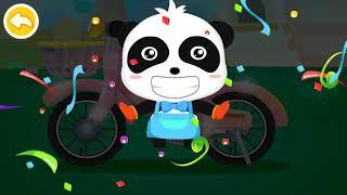 Asyik Main Game Kapten Bersih Bersih BabyPanda - Babybus | Mat Beng TV Games | GamePaly Android