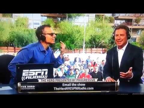 Colin Cowherd Interviews Dan Marino at Super Bowl XLIX