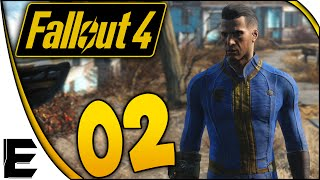 Fallout 4 Gameplay ➤ Workshop, Weapons Workbench, Crafting, Hacking, Cooking, Perk Chart! #002