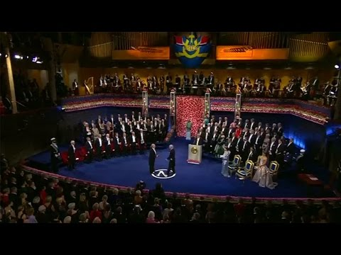 Watch | 2016 Nobel Prize winners awarded at a royal ceremony in Sweden