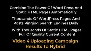 OTP Combining WP With HTML Pages Using Organic Traffic Platform Hybrid Video 4