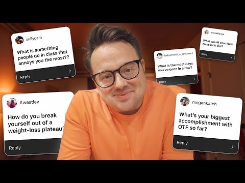 Answering Your BURNING Orangetheory Questions! *PUN INTENDED*
