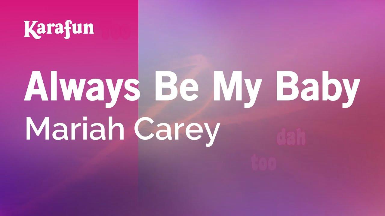 Karaoke Always Be My Baby - Mariah Carey * - YouTube