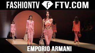 Emporio Armani Spring 2016 Collection At Milan Fashion Week Mfw Ftv Com