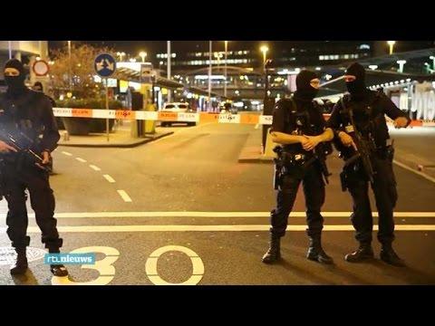 Video: Schiphol deels afgesloten om verdachte situ - RTL NIEUWS