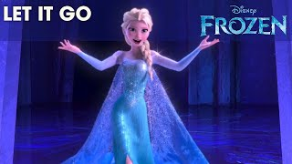 FROZEN - Let It Go Sing-along | Official Disney HD(Sing-along with Idina Menzel in this full sequence from Disney's Frozen. Walt Disney Animation Studios, the studio behind