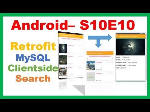 Android Retrofit → Android Retrofit MySQL ClientSide Multi