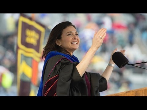 2017 Spring Commencement: Sheryl Sandberg's Commencement Address - Virginia Tech