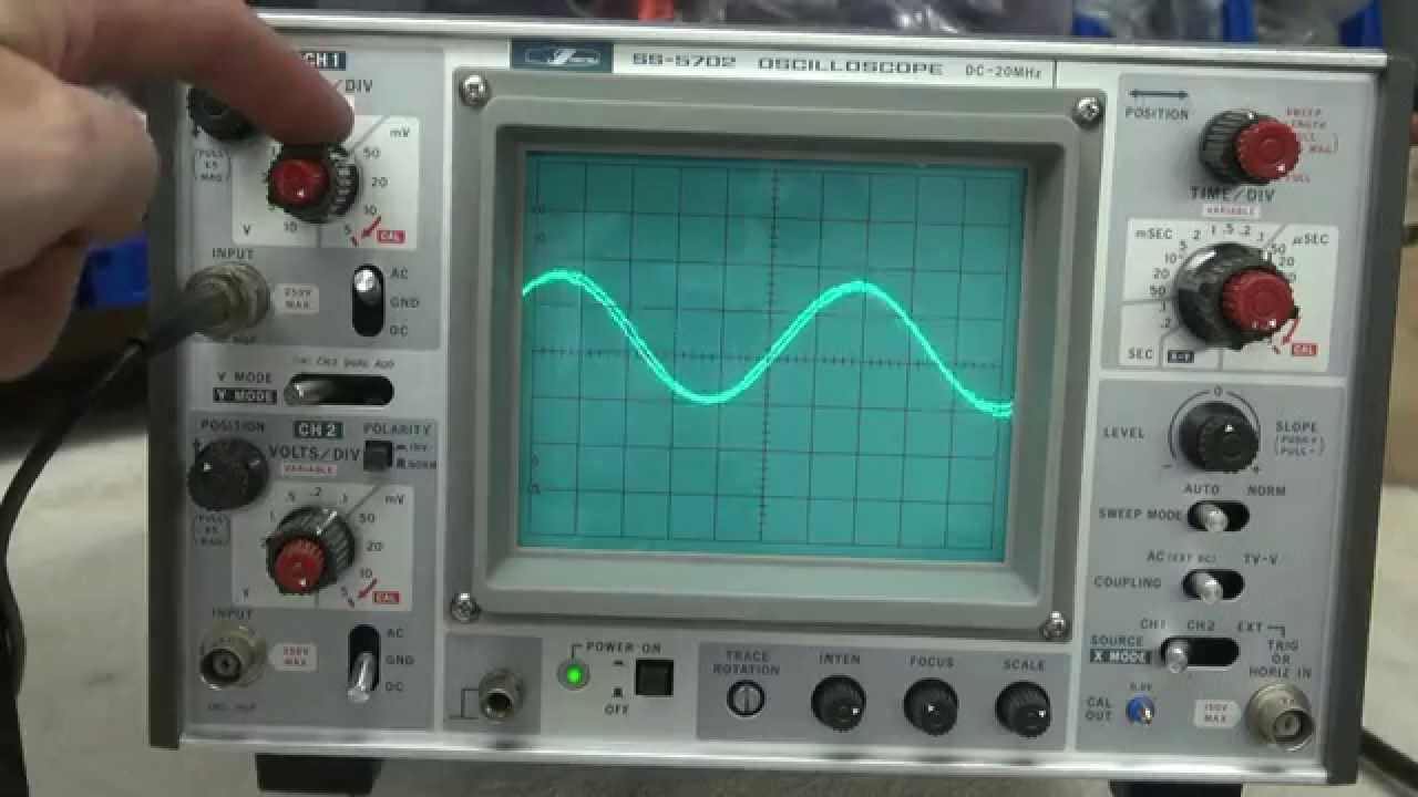 Amp On An Oscilloscope : D lab recommends how to repair tube amps best oscilloscope