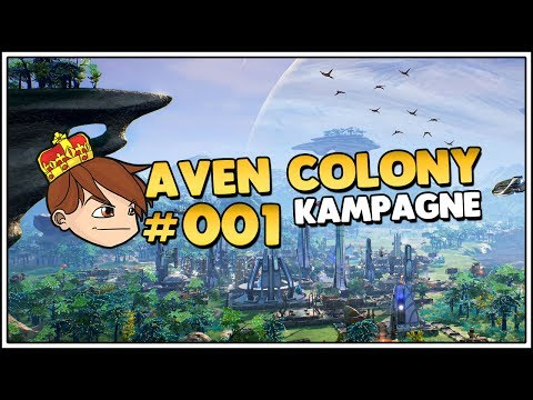 Let's Play Aven Colony - Ein wenig Anno #001 [Let's Play/Deutsch/1440p]