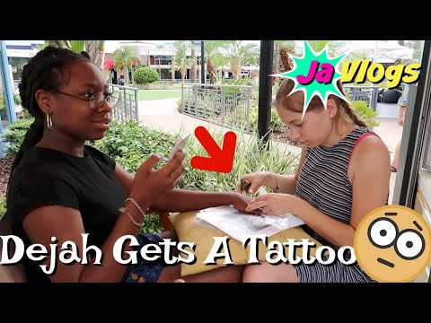 Dejah Gets A Tattoo | Madame Tussauds | Orlando Family Vacation | Day 3